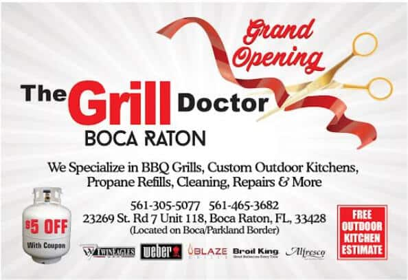 Grand Opening Boca Raton Location